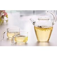 Best Fruit&lunch box & Storage Glass Teapot with tea cups sets wholesale
