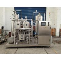 Beverage blending system 500ml Beverage Mixing Machine For Soft Drink , Soda Water production line