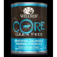 Best Wellness CORE Grain Free Canned Dog Food - Whitefish, Salmon & Herring Formula 12.5oz wholesale