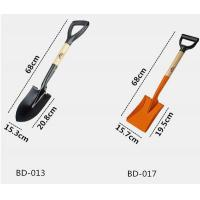 Best Hot sale D shape agricultural mini wood handle garden shovel wholesale
