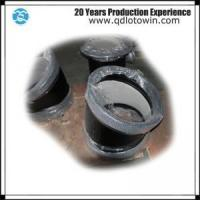 Best ISO8179 Double Socket 11.25 Deg Bend with Cement Mortar Lining Ductile Iron Pipe Fittings wholesale
