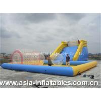 Best Inflatable Zorb Ramp and Water Pool Combo wholesale