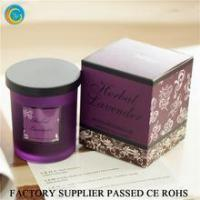 Best Flamless luxury soy scented candles glass jars wholesale