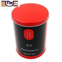 Best PMS Large and PMS Red Middle Round Tea Storage Arch Lid Tin Canister wholesale