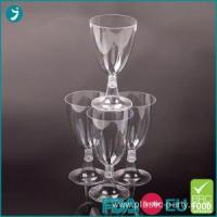 Best Party Plastic Wine Glasses 5oz Clear Disposable wholesale