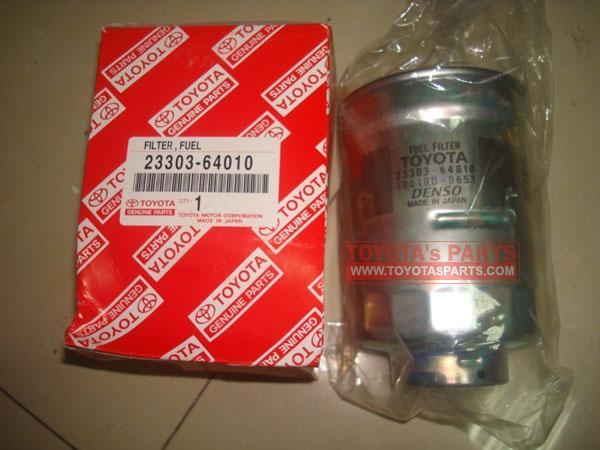 China 23303-64010,Genuine Toyota 1HZ 5L Fuel Filter