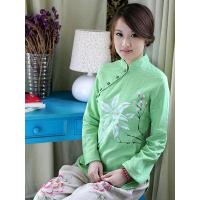 Best Green Ethnic Chinese Clothing wholesale