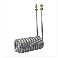 China shell and tube evaporator Titanium tube heat exchanger on sale