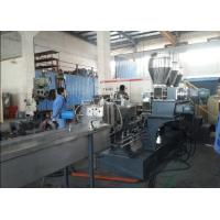 Best Co-rotating Parallel Twin Screw Extruder Plastic Compounding Line for Masterbatch wholesale