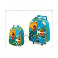 China Cute Kids Portable Trolley kid Lunch Bag Set on sale