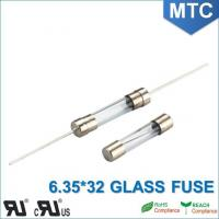 Best MTC 6.0*30mm 6.35X32mm 0.1~30A Time-Lag Glass Fuse wholesale