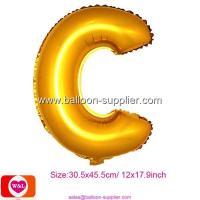 Best Foil Letter Balloon C wholesale Foil Letter Balloon C wholesale