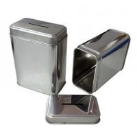 Food-grade large tea tin box tea tin container tea tins supplier