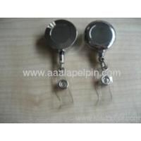 Buy cheap Metal Re-tractable badge holder from wholesalers