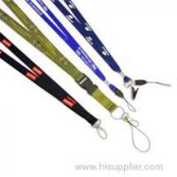 Buy cheap promotional Nylon lanyard keychains from wholesalers