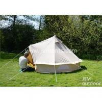 Best Bell Tent/ Canvas Tent 5m Canvas Bell Tent With Canvas Stretch Tarp wholesale