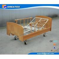 China Hospital Bed Two Crank Nursing Home Beds And Manual Home Care Bed on sale