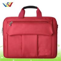 Best Laptop Bag Polyester multi-structures laptop bag in red color wholesale