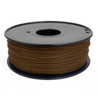 Buy cheap 3D Printer Filament RepRap ABS/PLA 1kg/roll Brown from wholesalers