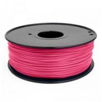 Buy cheap 3D Printer Filament RepRap ABS/PLA 1kg/roll Pink from wholesalers