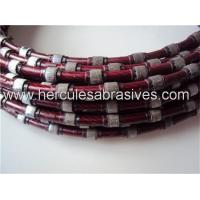 Quality Diamond wire for marble/travertine profiling wholesale
