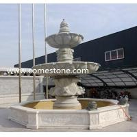 Best F08 Red Granite Rolling Sphere Fountain wholesale