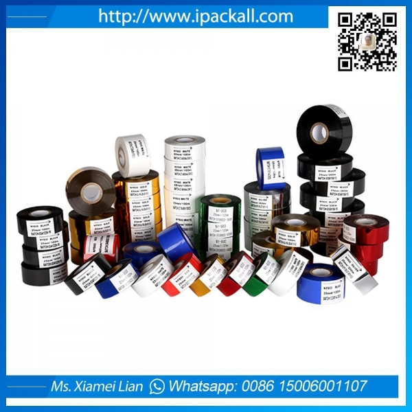 Cheap Hot Printing Stamping Foil Roll /black coding ribbons for expiry date printing for sale
