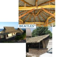 Best Good Quality Synthetic Thatch Tiles for Palm Leaf Hut wholesale