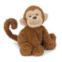 Animal Toy PA-1004 cute plush monkey with smile
