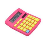 Quality Solar power sound 8 digits calculator with colorful design wholesale