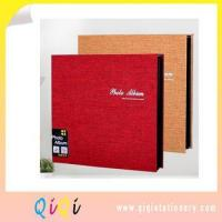 Best self-adhered fabric photo album wholesale
