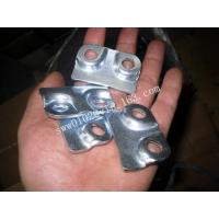 Buy cheap OEM Custom Metal Stamp For Steel In Zinc Plated from wholesalers