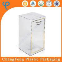 Quality Custom Packaging Clear Plastic Wine Gift Box Suppliers wholesale