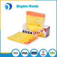 Best Recycled HDPE / LDPE with D2W Plastic Biodegradable Drawstring Garbage Bag wholesale