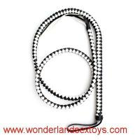 Best Long Weave Sex Whips,white and black leather,Funny Sex Game Toys,Spanking Paddle wholesale