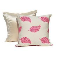 Buy cheap Embroidered Decorative Cushion Covers 100% Cotton Couch Throw Pillows from wholesalers
