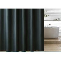 Buy cheap Black Shading Bathroom Shower Curtains 100% PEVA Waterproof Thickening from wholesalers