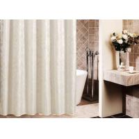 Best Printed Thickening Waterproof Shower Curtain , Plated Style Modern Shower Curtains wholesale