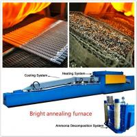 Best Hydrogen Atmosphere Electric Stainless Steel Bright Annealing Heat Treatment Furance wholesale