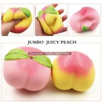 10 cm Jumbo scented Peach slow rising Super cute peach squishy toy