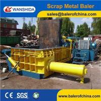 Best China Scrap Metal Cast iron scrap baling press compactor Baler Factory wholesale