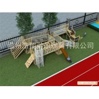 Best Competitive Price High Quality Wooden Outdoor Playground Equipment for Sale wholesale
