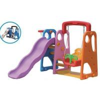 Kids Plastic Slide and Swing Play Sets for Home