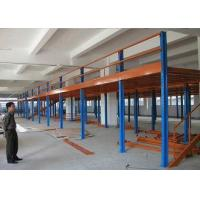 China Industrial Mezzanine Floors With Plywood , Warehouse / Office Mezzanine Structures on sale