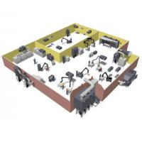 Industrial plant layout air purification products