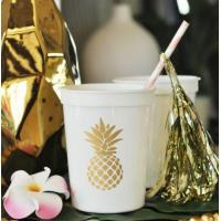 China Pineapple Party Cups (set of 25) on sale