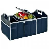 Best Original Folding Trunk Organizer with Cooler by Picnic at Ascot - Navy wholesale