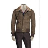 China 11082302 Men's Faux Shearling coat on sale