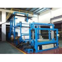 Quality Blue Color Dipping Production Line , Shade Cloth Dipping Machine High Output wholesale
