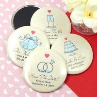 "Best Personalized Wedding Magnets (2.25"") wholesale"